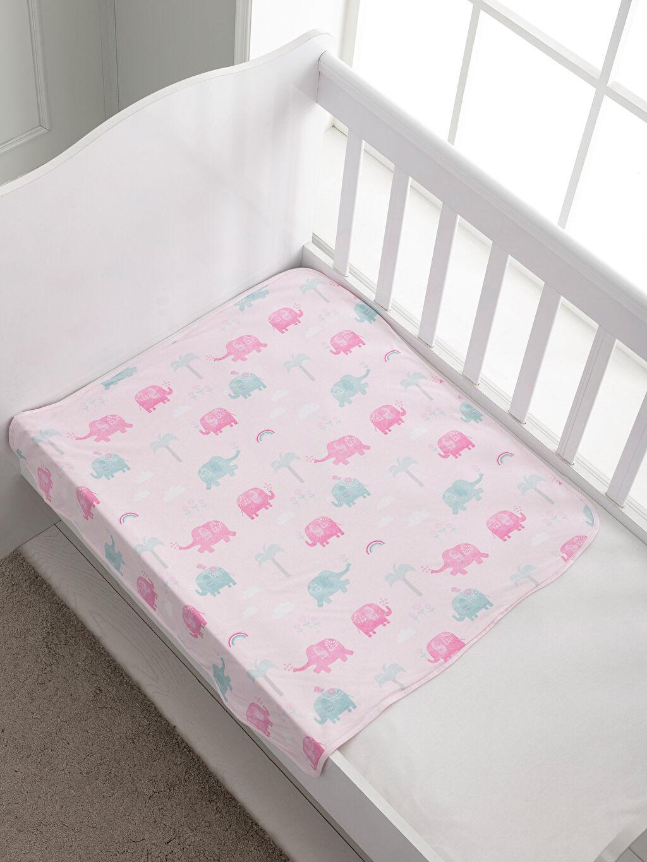 Penye İnce Baskılı Bebek Battaniyesi Bebek Baskılı Battaniye