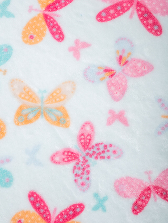 Kız Bebek Desenli Battaniye