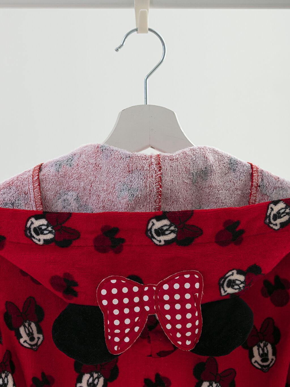 Minnie Mouse Lisanslı Çocuk Bornoz
