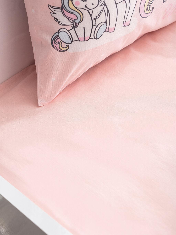 Kız Bebek Unicorn Baskılı Nevresim Takımı