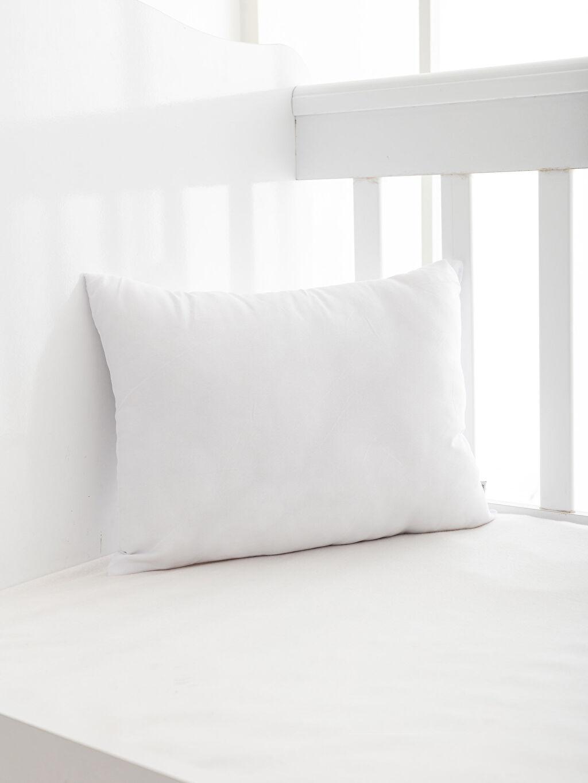 Beyaz Mikrofiber Bebek Yastık 0SK470Z1 LC Waikiki