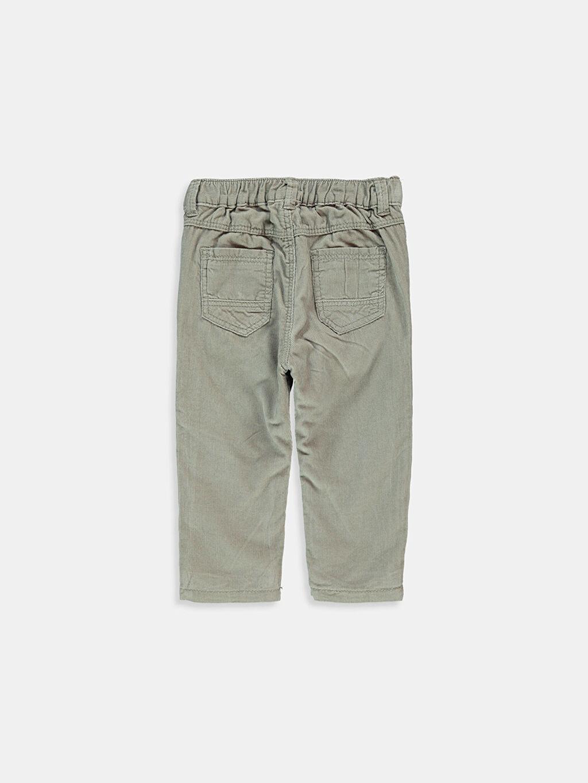 %100 Pamuk %100 Pamuk Standart Pantolon Erkek Bebek Kadife Pantolon