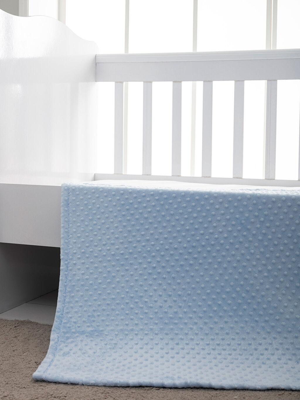 Mavi Erkek Bebek Pelüş Battaniye 9W7906Z1 LC Waikiki