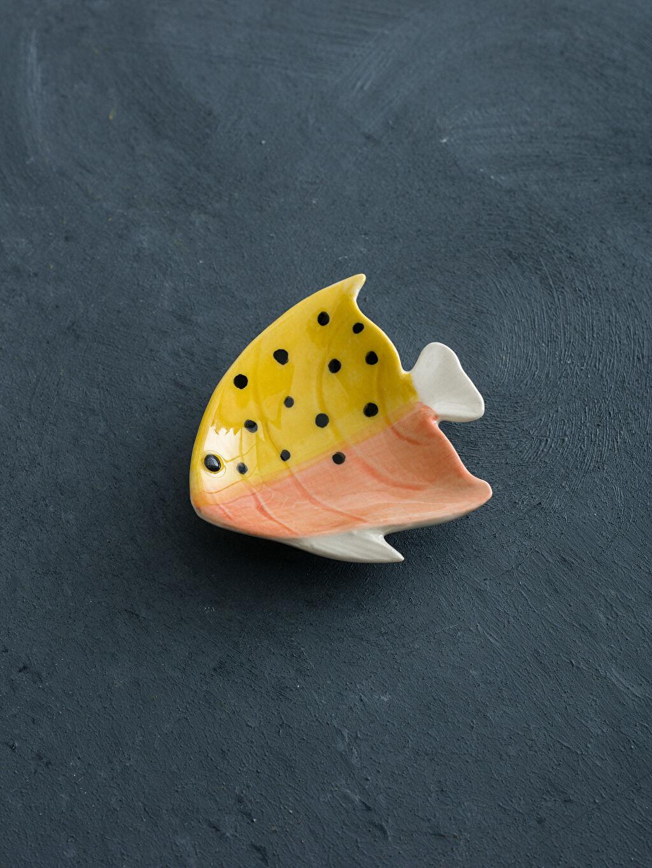 Çok Renkli Balık Figürlü Seramik Tabak 9S3320Z8 LC Waikiki