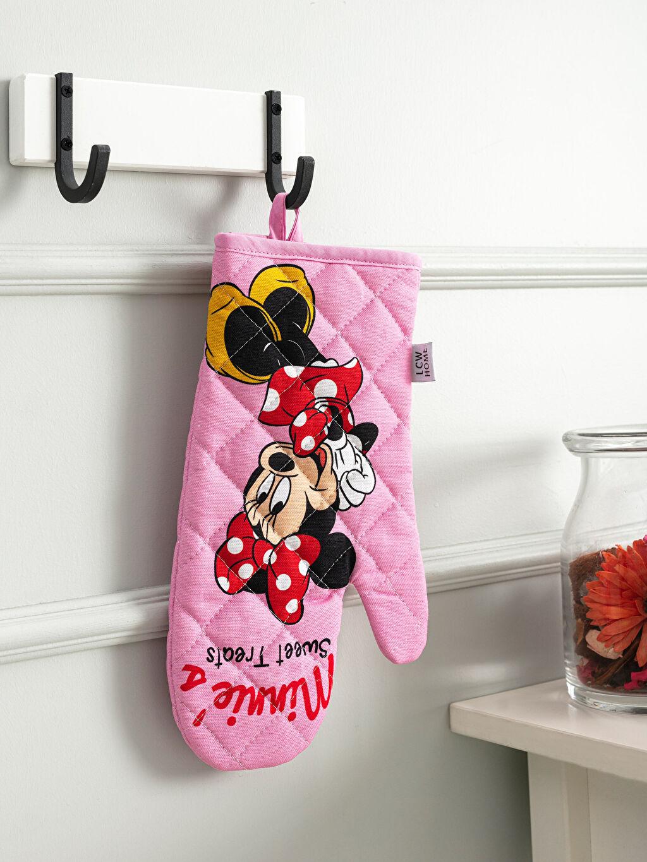 Pembe Minnie Mouse Lisanslı Fırın Eldiveni 9WK816Z8 LC Waikiki