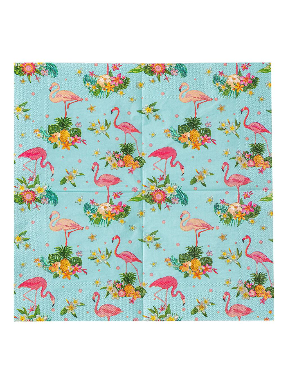 Peçete Flamingo Desenli Peçete 20'li