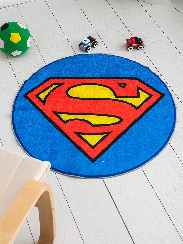 Çok Renkli Erkek Çocuk Superman Baskılı Halı 0SS885Z4 LC Waikiki
