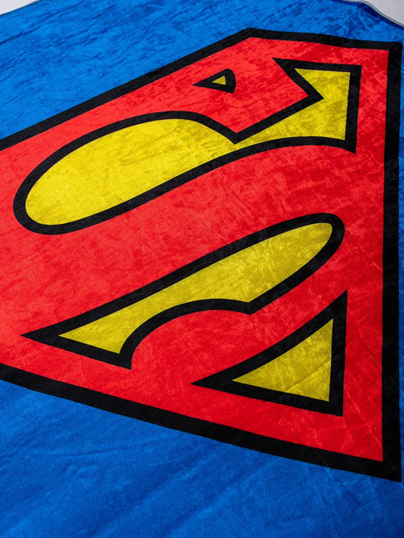 Erkek Çocuk Superman Baskılı Halı
