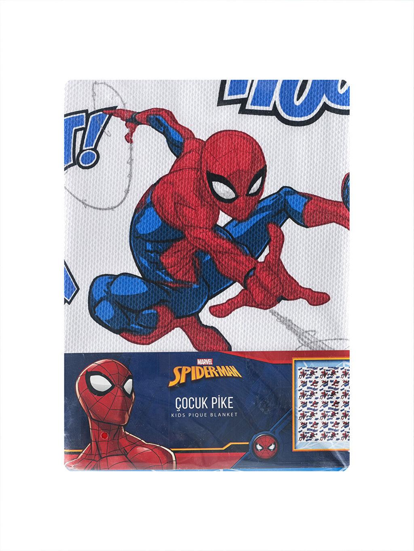 %100 Pamuk Spiderman Pamuklu Çocuk Pike