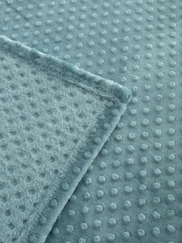 %100 Polyester Çift Kişilik Battaniye Orta Kalınlık Düz Welsoft Çift Kişilik Well Soft Battaniye