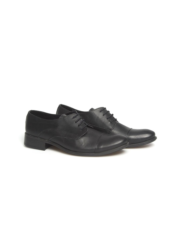 Siyah Siyah Bağcıklı Ayakkabı 7Y4586Z8 LC Waikiki
