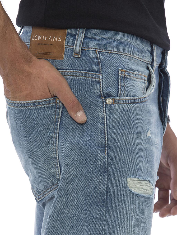 %100 Pamuk Jean Pantolon