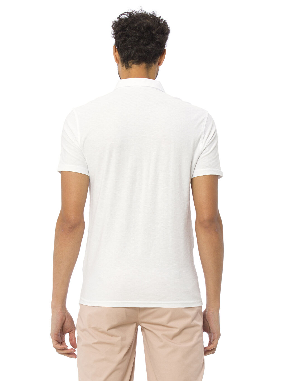 %100 Pamuk Standart Tişört Polo Yaka Kısa Kol Düz Kısa Kollu Polo Tişört