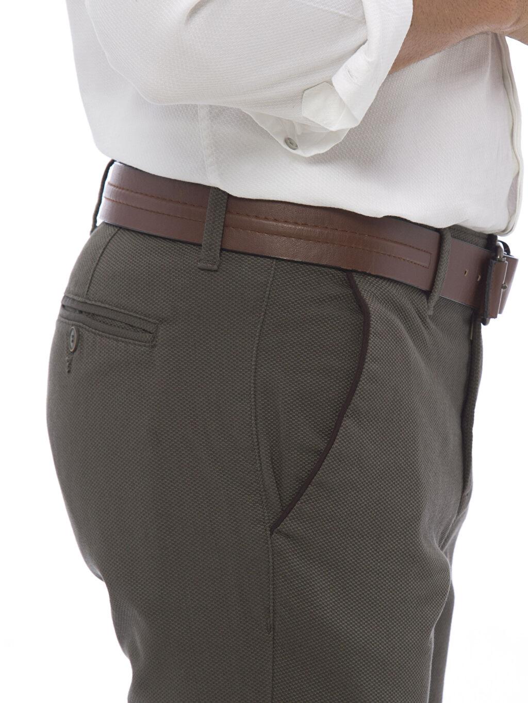 %97 Pamuk %3 Elastan Standart Kalıp Pantolon