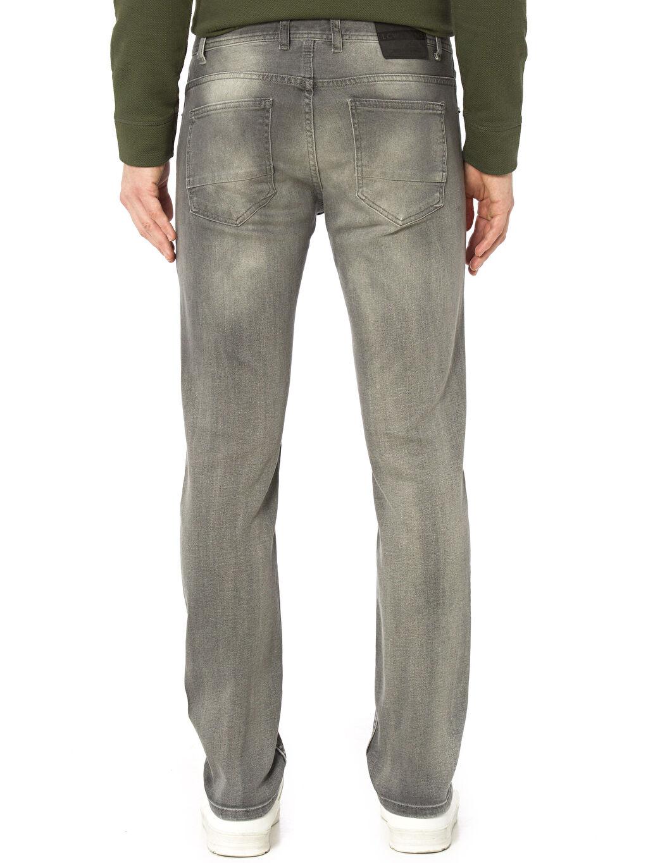 %99 Pamuk %1 Elastan Normal Bel Dar Jean Slim Jean Pantolon