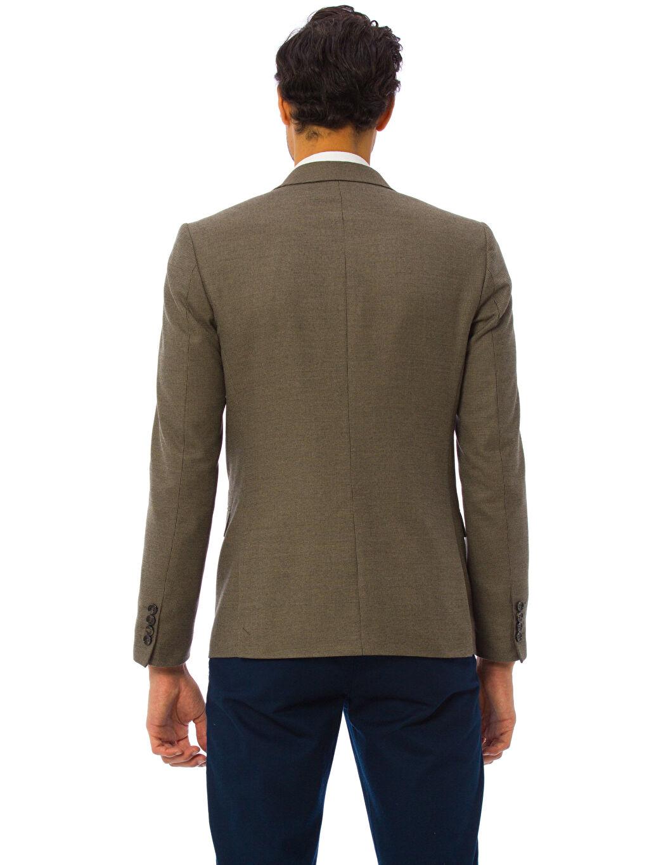 %67 Polyester %33 Viskon Blazer Ceket Astarlı Standart Diğer Blazer Ceket