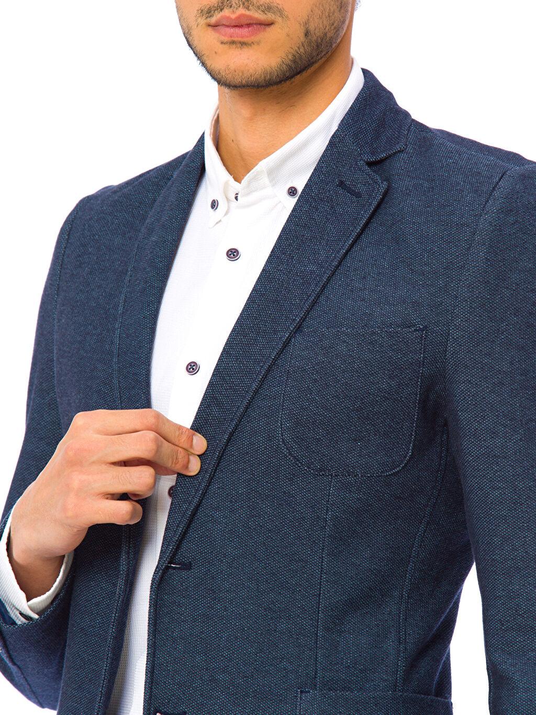 %100 Pamuk Blazer Ceket
