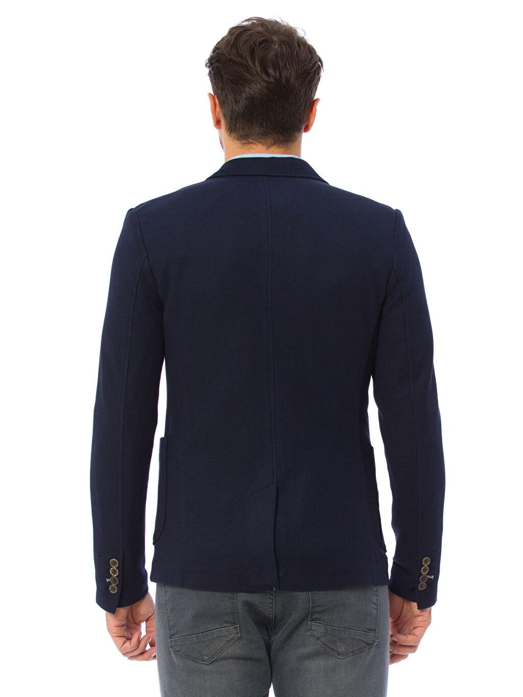 %100 Polyester %100 Polyester Blazer Ceket Taffeta Astar Kapüşonsuz Dar Kalıp Blazer Ceket