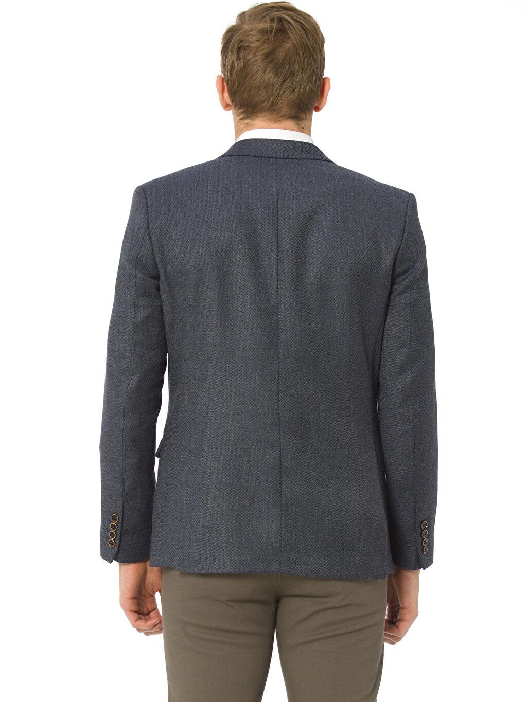 %52 Poliester %3 Poliamid %25 Yün %20 Vıscose %100 Polyester Düz Blazer Ceket Astarlı Standart Blazer Ceket