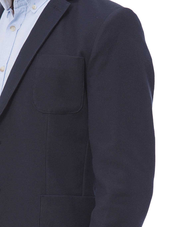 %98 Pamuk %2 Elastan Standart Kalıp Blazer Ceket