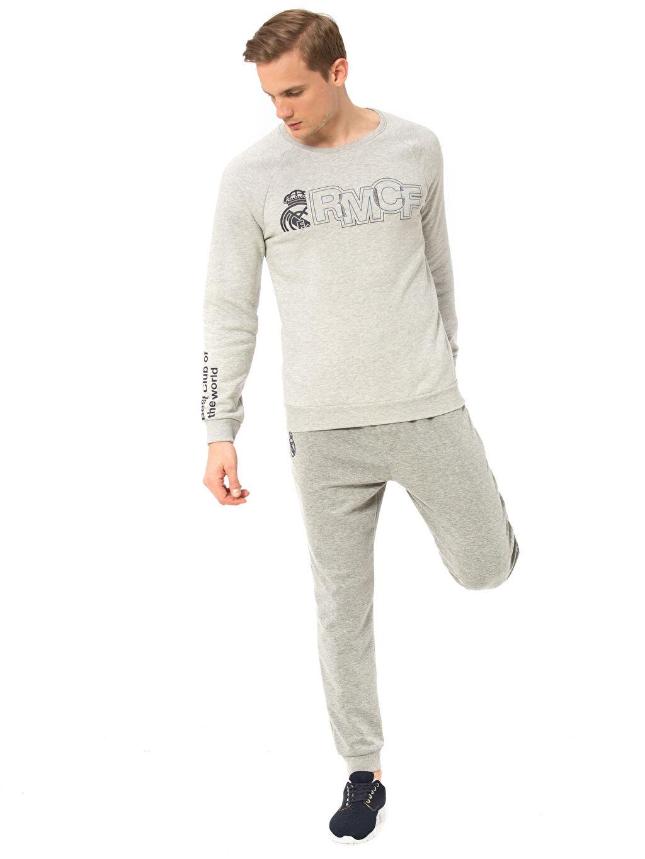 %59 Pamuk %41 Polyester Real Madrid Sweatshirt