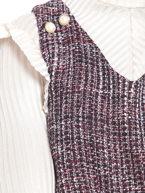 Kadın Tüvit Mini Elbise