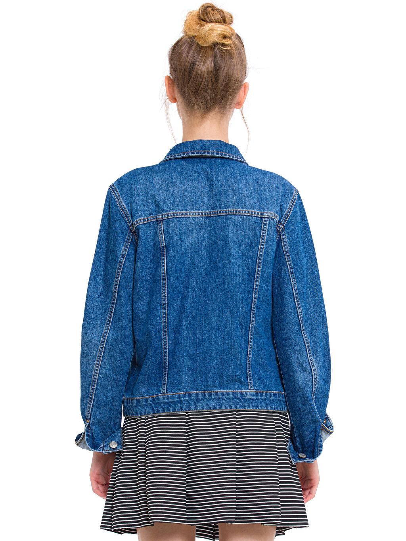 Kadın Jean Ceket