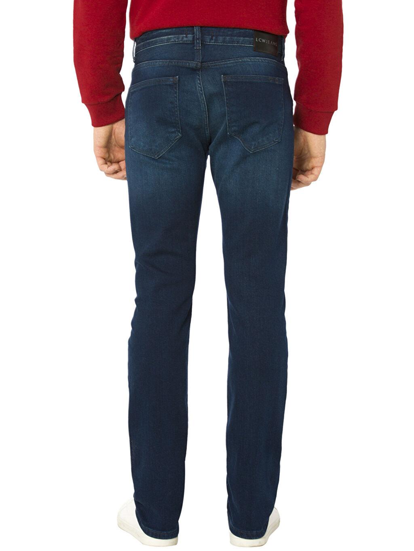%97 Pamuk %2 Elastomultiester %1 Elastane Normal Bel Dar Jean Skinny Jean Pantolon