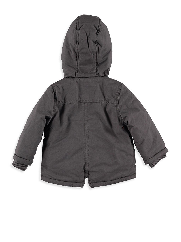 %100 Pamuk %100 Polyester Mont Kalın Erkek Bebek Pelüş Astarlı Kalın Kaban