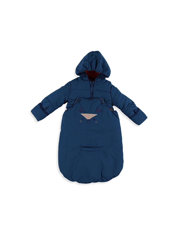 Mavi Erkek Bebek Fonksiyonel Kalın Astronot Mont 7K0444Z1 LC Waikiki