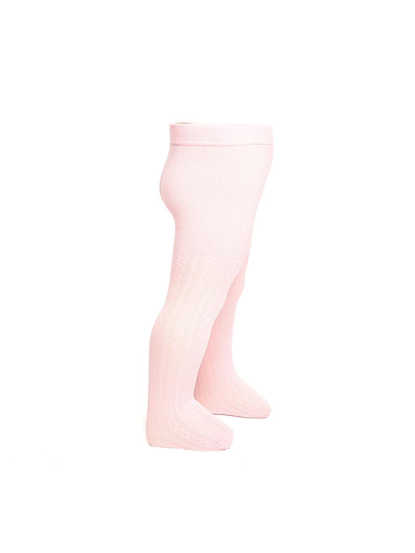 %92 Poliamid %8 Elastan İnce Külotlu Çorap Düz Dikişli Kız Bebek Düz Külotlu Çorap