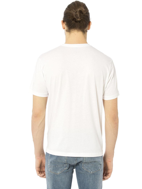 %100 Pamuk V Yaka Kısa Kol Düz Penye Standart Tişört V Yaka Kısa Kollu Pamuklu Tişört