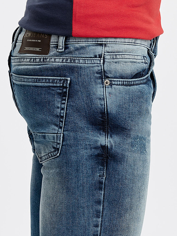 %98 Pamuk %2 Elastan 750 Kuruçeşme Slim Fit Jean Pantolon