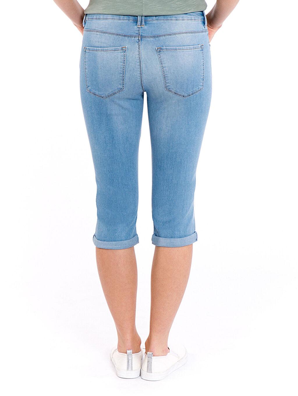 Kadın Super Slim Jean Capri