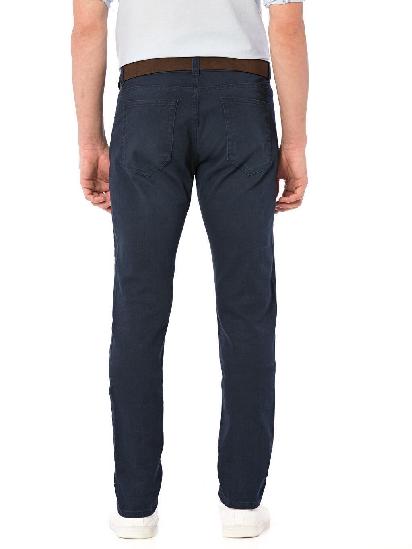 %98 Pamuk %2 Elastan  Super Skinny Gabardin Pantolon