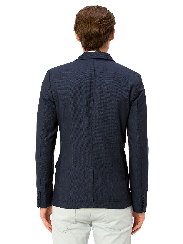 %66 Polyester %34 Viskoz %100 Polyester Sentetik Astar Blazer Ceket Standart Blazer Ceket