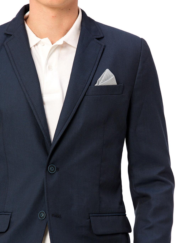 %66 Polyester %34 Viskoz Blazer Ceket