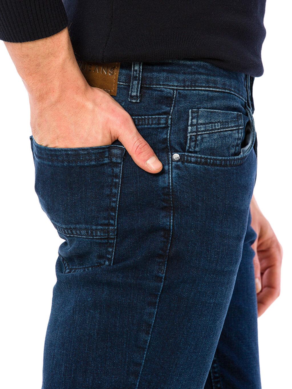%98 Pamuk %2 Elastan Slim Jean Pantolon