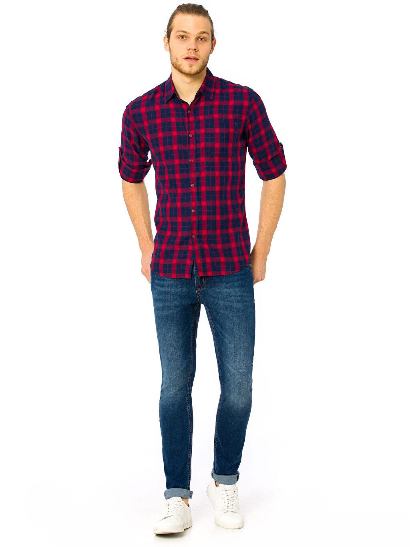 Erkek Skinny Jean Pantolon