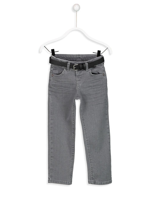 Gri Slim Jean Pantolon 8S0025Z4 LC Waikiki