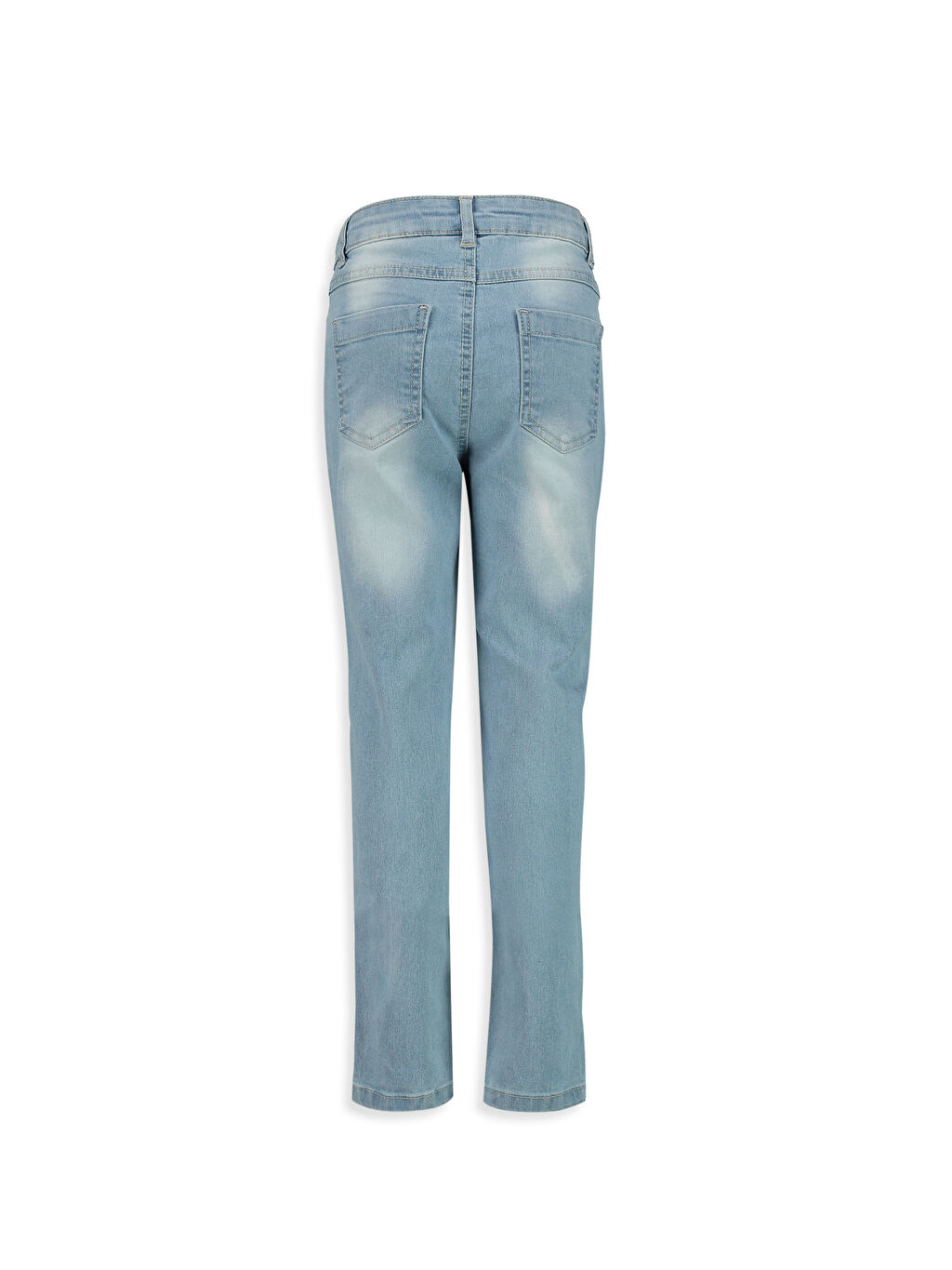 %79 Pamuk %18 Polyester %3 Elastan Düz Dar Paça Normal Bel Astarsız Dar Jean Aksesuarsız Skinny Jean Pantolon