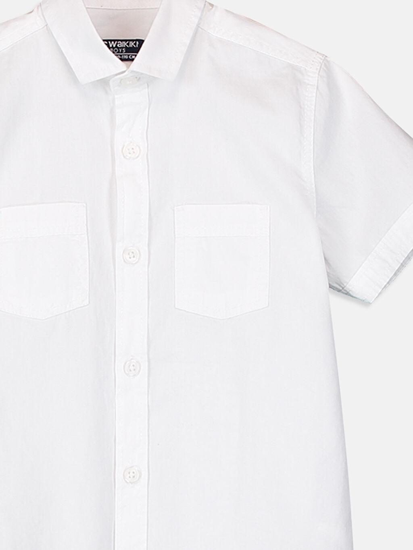 Erkek Çocuk Kısa Kollu Poplin Gömlek