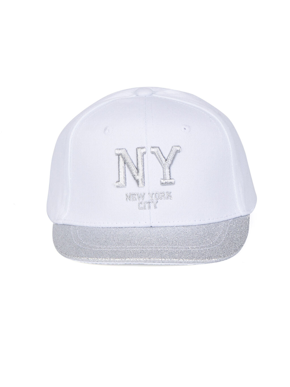 %100 Pamuk Şapka Yazı İşlemeli Pamuklu Şapka
