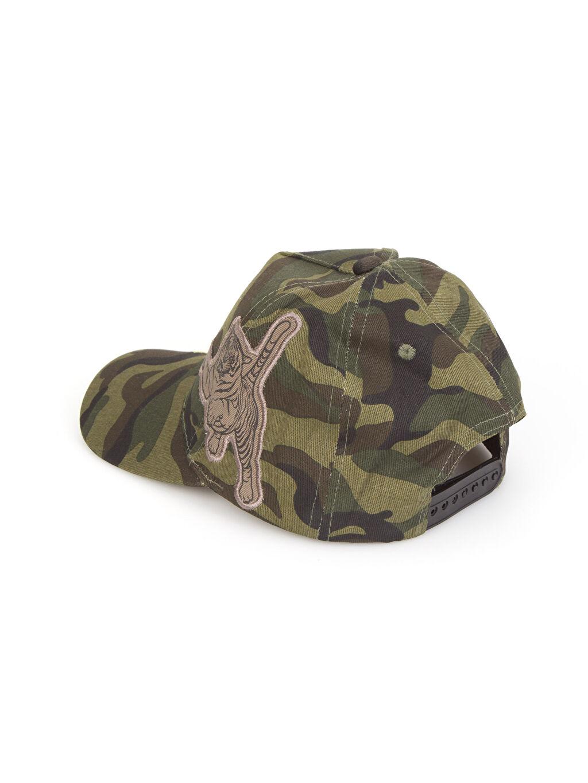 %100 Pamuk Şapka Kamuflaj Desenli Şapka