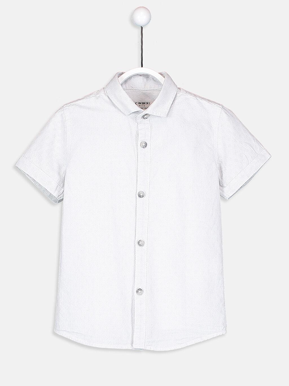 %100 Polyester %100 Pamuk %100 Pamuk Standart Kısa Kol Düz Gömlek Kısa Kollu Armürlü Gömlek ve Papyon