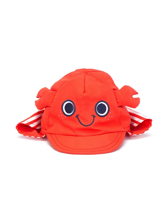 %100 Polyester %100 Pamuk Astarsız Şapka Erkek Bebek Güneş Şapkası