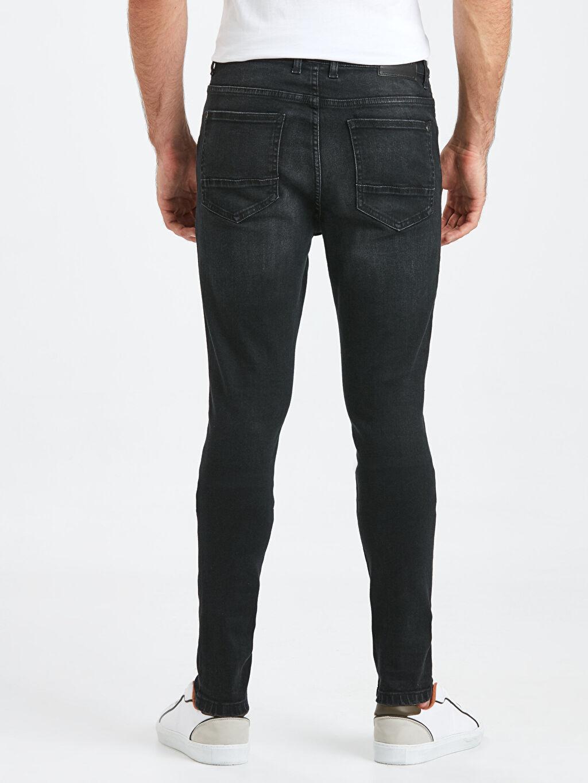 Erkek Super Skinny Jean Pantolon