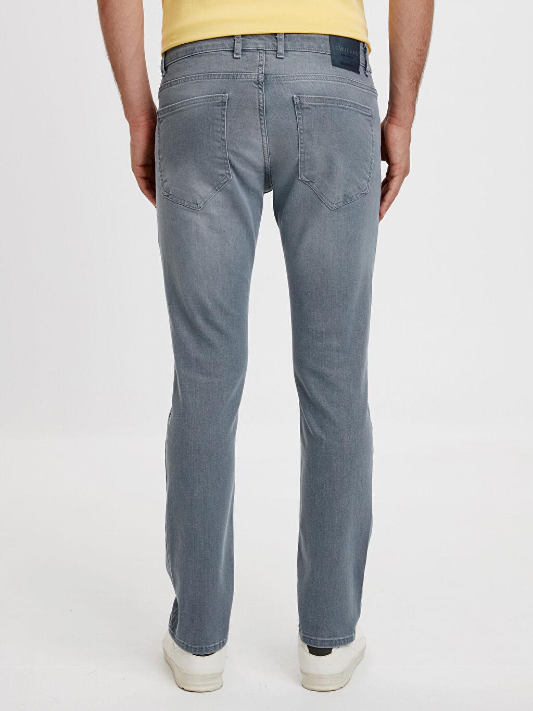 Erkek 750 Slim Fit Gabardin Pantolon