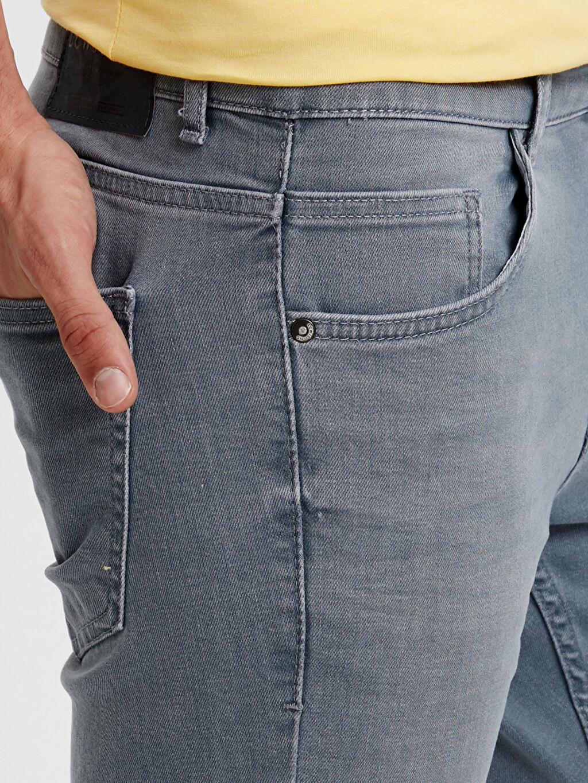 %98 Pamuk %2 Elastan 750 Slim Fit Gabardin Pantolon