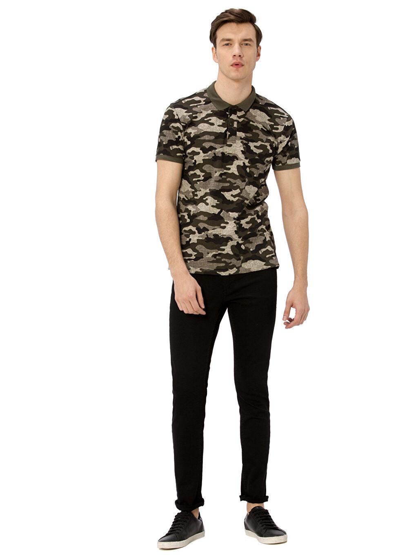 Siyah 760 Skinny Fit Jean Pantolon 8W2364Z8 LC Waikiki